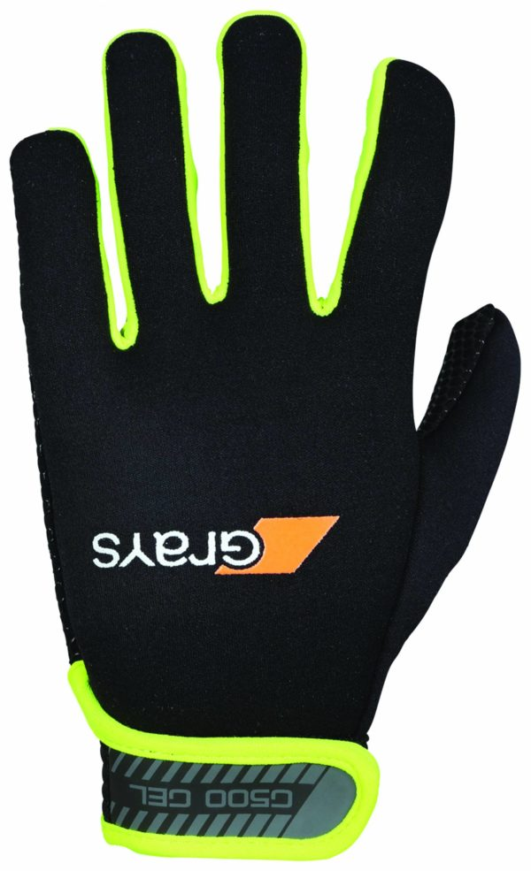 1137-GRAYS G500 Gel Gloves-Yelllow-Back