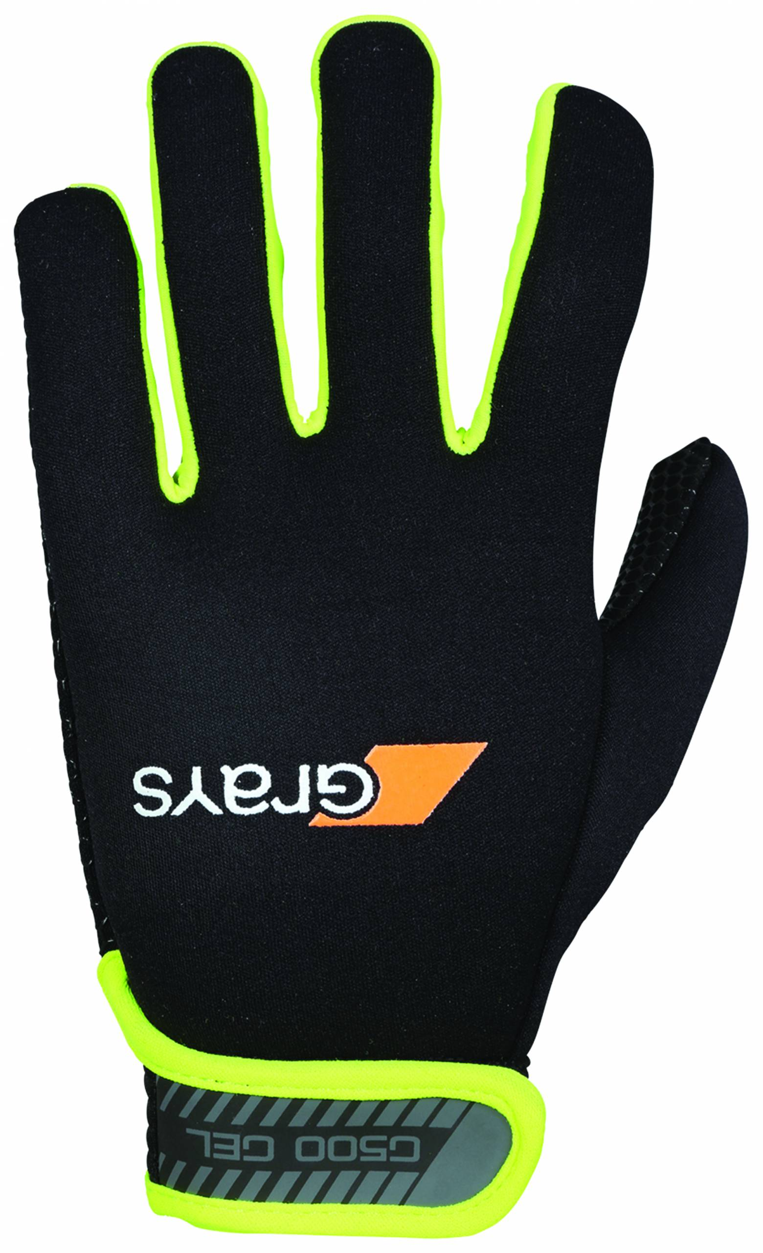1137-GRAYS G500 Gel Gloves-Yelllow-Back