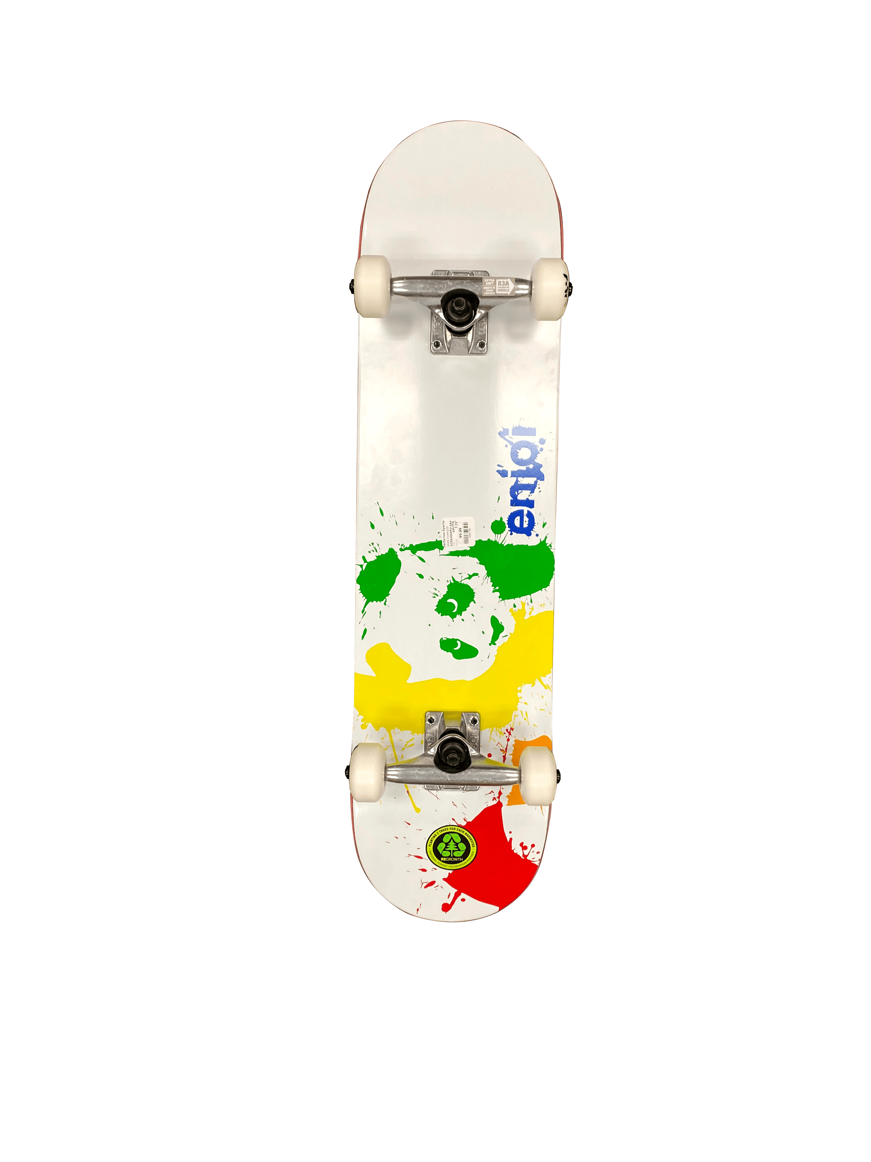 "Enjoi Splatter, 780, 7.75"", $99.99"