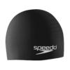 Speedo Solid SiliconeSwim Cap- Black $9.99