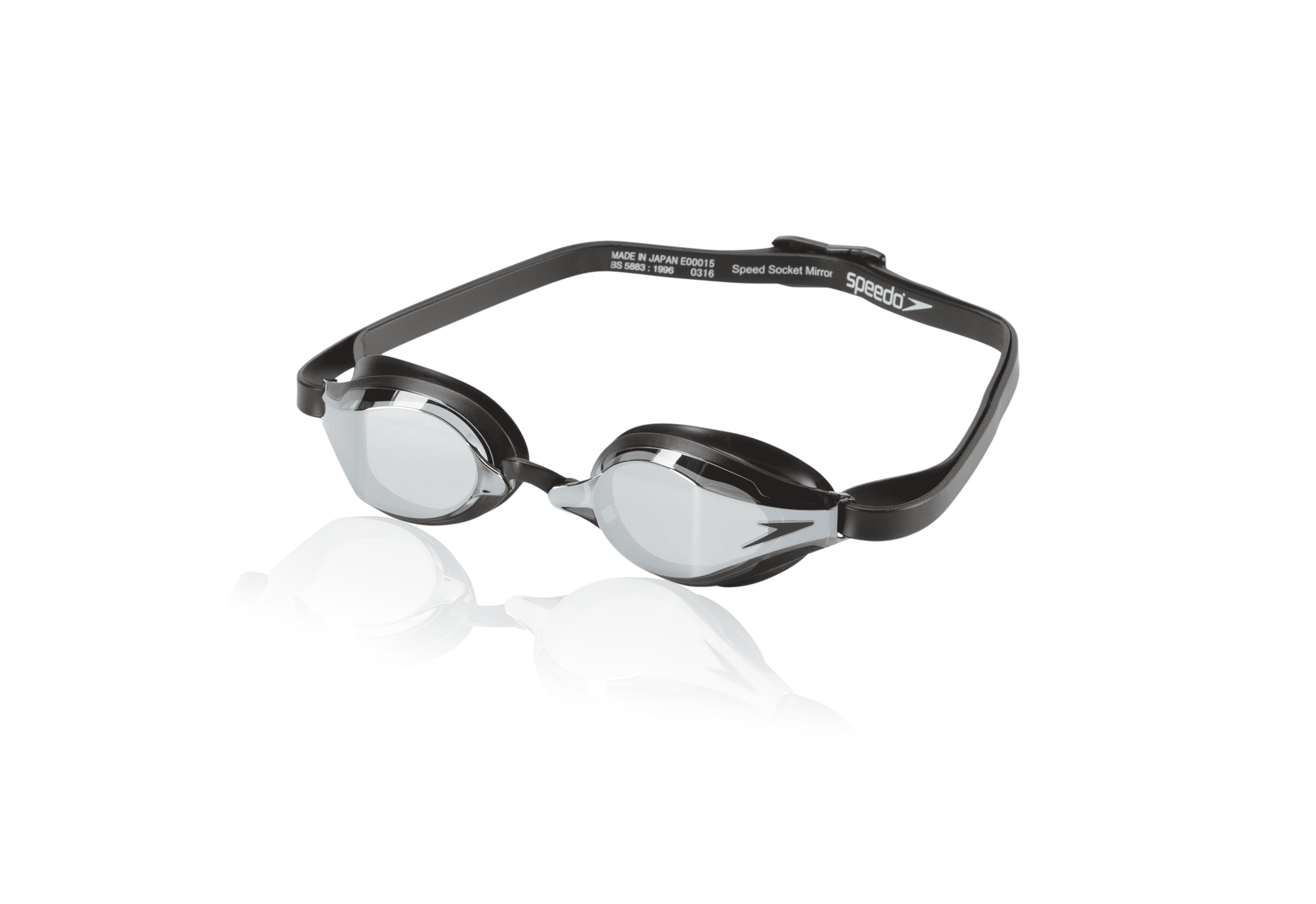 Speedo Speed Socket Mirrored-Black $18.99